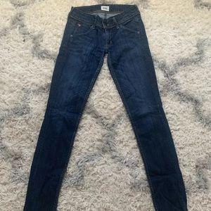 ***Authentic Hudson Dark Wash Jeans**** Size 24